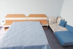 Голяма спалня и диван
